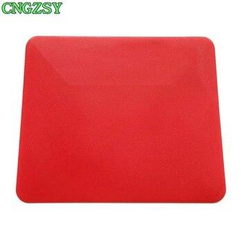 Escurridor suave rojo, tintado de ventana de coche, película automática para envolver, aplicador de instalación, limpieza automática de vidrio, papel de pared, raspador móvil A27