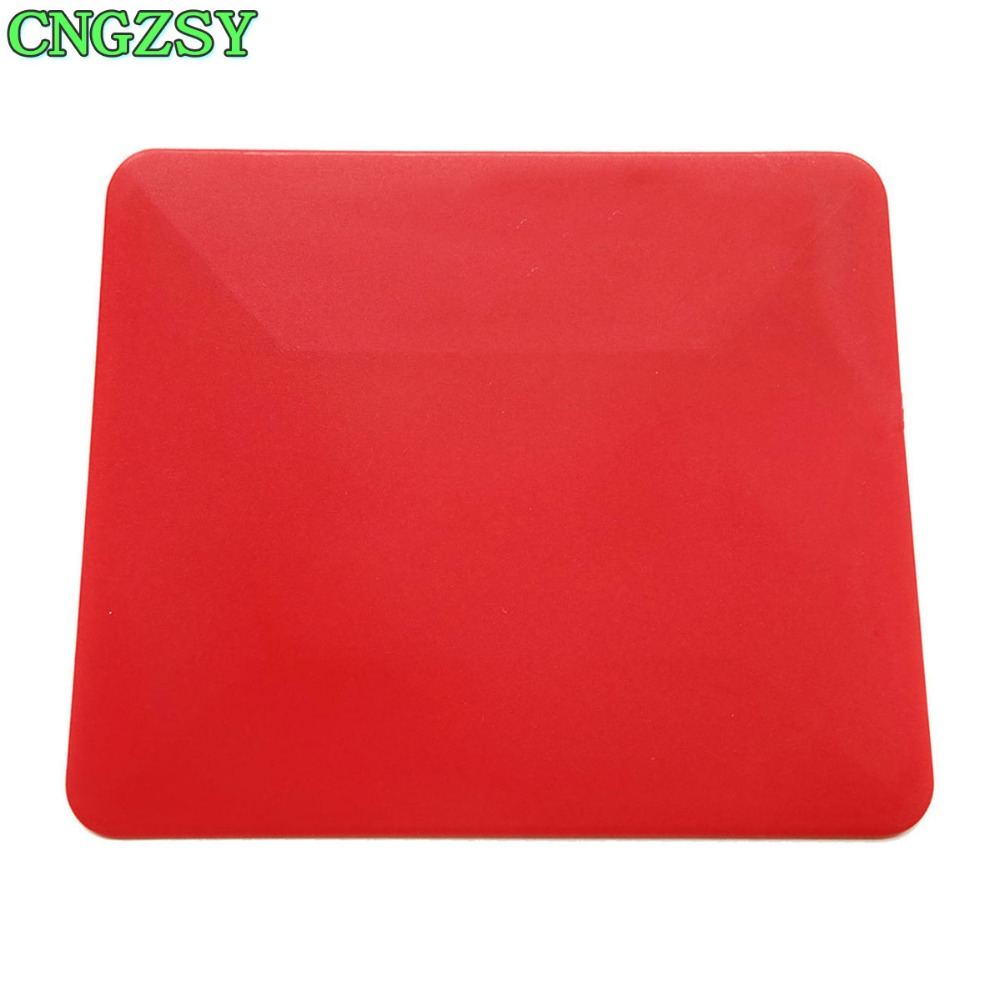 Red Soft Squeegee Car Window Tinting Auto Film Wrapping Install Applicator Auto Glass Cleaning Wall Paper Mobile Scraper A27