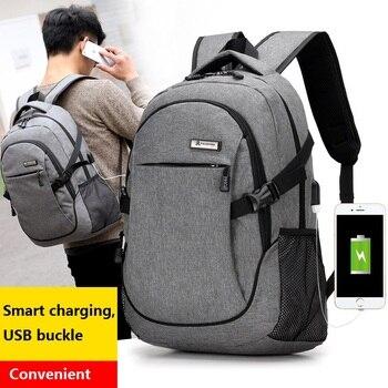 External Charging USB Design Backpack Men Book Bags for School Backpacks Casual Rucksack Daypack Computer Laptop Bagpack Bolsas Рюкзак