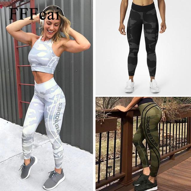 Printed Slim High Waist Elastic Yoga Pants Leggings