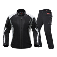 DUHAN Summer Motorcycle Jacket &Motorcycle Pants Men Body Armor Breathable Suit Chaqueta Moto Protecto Racing Riding Jaqueta