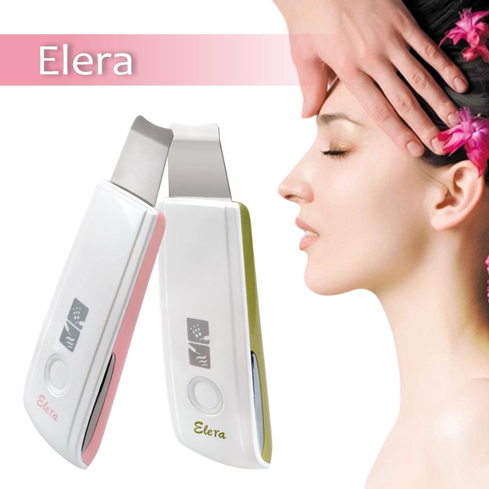 Neue Ultraschall Ionen Haut Wäscher Wiederaufladbare Mikrodermabrasion Tiefe Reinigung Hohe Frequenz Vibration Gesicht Peeling Massager Spa
