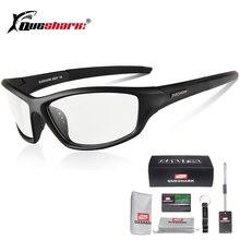 цена Queshark Photochromic Cycling Eyewear Bicycle Bike Glasses Outdoor Sport MTB Bicycle Bike Sunglasses Goggles Bike Racing Glasses