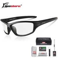 Queshark lunettes photochromiques vélo vélo vélo lunettes Sport de plein air vtt vélo vélo lunettes de soleil lunettes vélo course lunettes