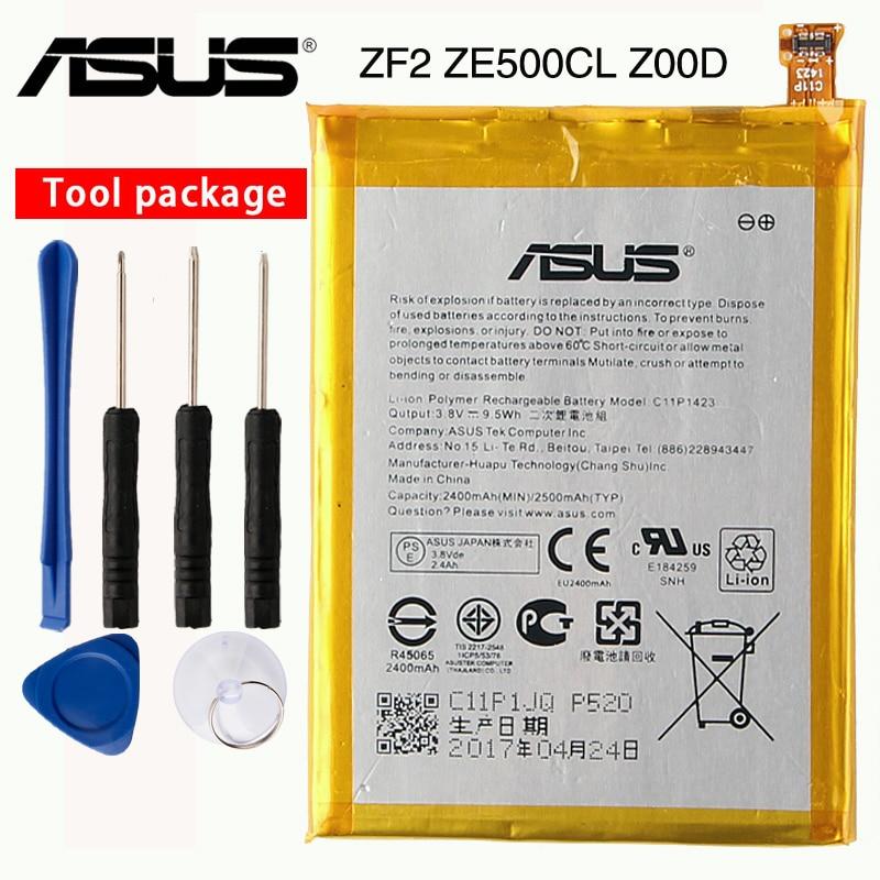Original ASUS High Capacity C11P1423 Battery For ASUS ZF2 ZE500CL Z00D 2400mAhOriginal ASUS High Capacity C11P1423 Battery For ASUS ZF2 ZE500CL Z00D 2400mAh