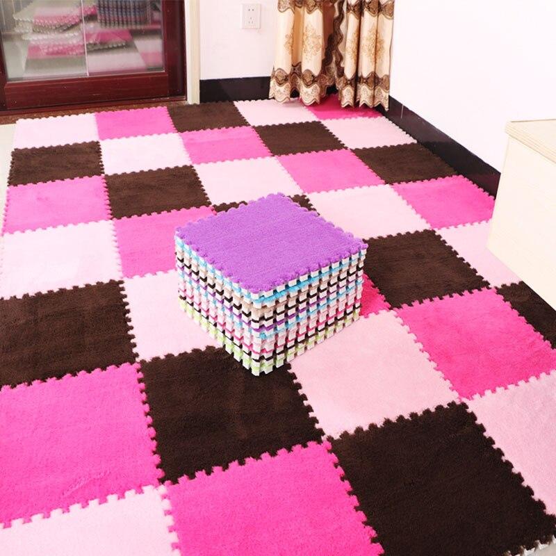 3 Pcs Baby Crawling Mat Interlocking Exercise Tiles Floor Carpet Kids Play Puzzle EVA Foam Non-slip Mats Floor Rug Hot Sale