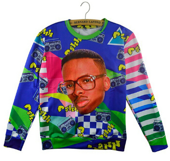 Will Smith Christmas Sweater.Us 20 89 Plstar Cosmos 3d Fashion Fresh Prince Christmas Crewneck Sweatshirt Will Smith With Christmas Hat Sweats Pullover Tops Women Men In Hoodies