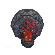 Embroidery Patch Bear Animal Military Morale Patches Tactical Combat Emblem Applique Embroidered Badges Drop Shipping