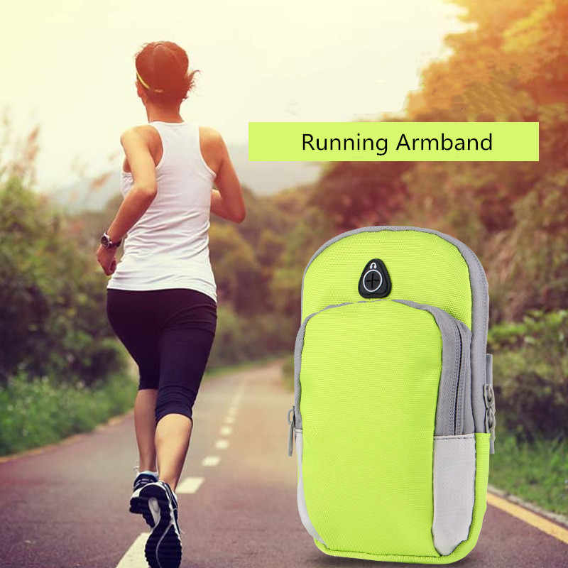 Deporte correr pulsera bolsa funda para correr brazalete Universal impermeable deporte móvil soporte para teléfono al aire libre deporte brazalete