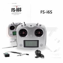 FS-i6S 2.4G 10CH Flysky AFHDS 2A Transmisor RC Con Control Remoto Para El Receptor Eachine FS-iA6B Racer 250 Quadcopter Avión