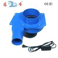 Tafeng 60 واط 220 فولت لاستخراج الدخان الغاز المنفاخ مروحة صغيرة مع ستبليس سرعة منظم