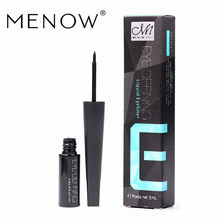 Menow Brand Makeup Black Liquid Eyeliner Long Lasting Waterproof not Blooming Eyeliner Quick-Drying Cosmetic Hot Sale E15005 ~(China)