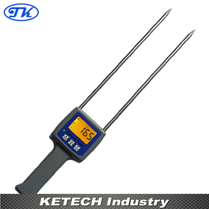 TK100G Digital Grain Moisture Meter Tester for Wheat,Maize,Soya Beans,Paddy, Rice,Barley цена