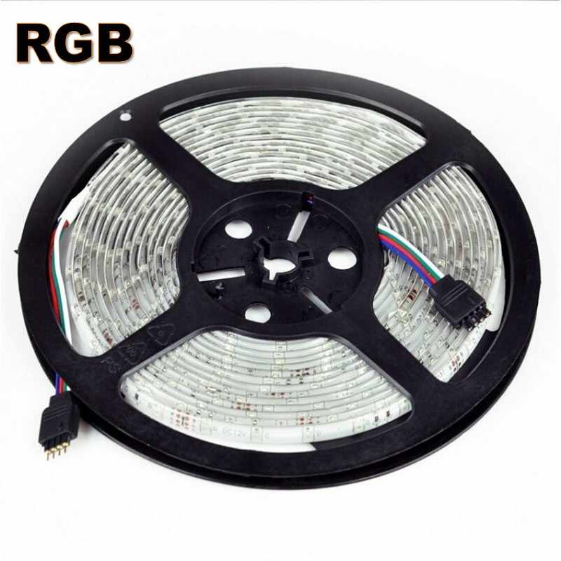 DC 5V 12V 5M 10M 20M LED Strip SMD 3528 RGB White Led Strip Fiexble Ribbon Christmas Tape Home Decoration Lamp Holiday Lighting
