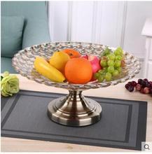European fruit dish creative glass modern simple decoration