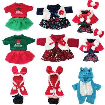 1pc Doll Clothes for 30cm Le Sucre Rabbit Bear Cat Plush Toys Sweater Dress Piggy Suit 1/6 BJD Dolls Gifts Girls