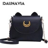 Samantha Vega 20Y Limited Sailor Moon Bag Ladies Handbag Black White Cat Luna Moon Women Messenger
