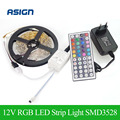 DC12V RGB LED Strip Light SMD3528 5M 300 leds Flexible LED Tape Lamp Non-waterproof Christmas Decoration LED Stripe Power Supply