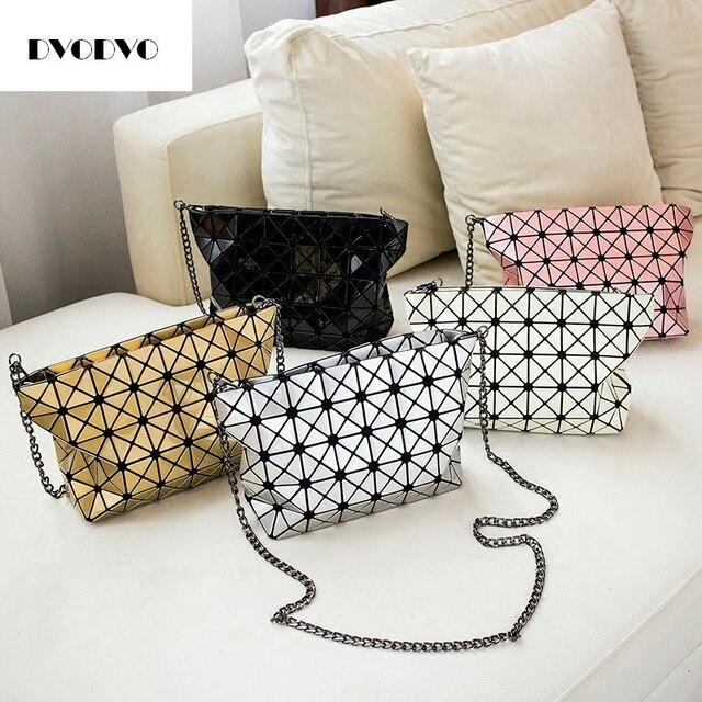 DVODVO Women Bao Bao Bag Geometry Laser Handbag Fashion Chain baobao Totes  Clutch Shoulder Crossbody Bags Women bolsos Female 9ca532db3a5a7