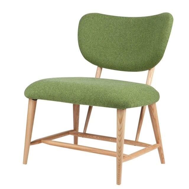 Scandinavian Furniture Danish Armchair Chairs Ash Cute Casual Fashion  Minimalist Modern Cafe Chair
