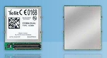 CC864-DUAL Telit 2G 100% New Genuine Distributor GPRS GSM CDMA RTT Compact quad-band module 1PCS Free Shipping