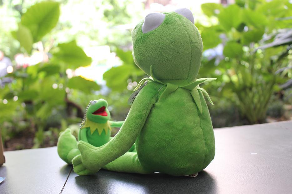 1pcs 40cm KERMIT THE FROG PLUSH SOFT TOY THE MUPPETS SHOW FILM TEDDY BNWT  for baby kids christmas dolls-in Stuffed   Plush Animals from Toys    Hobbies on ... 3230fb5a4f4