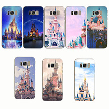 Soft TPU Phone Cases Cinderella Castle for Samsung Note 8 Note4 S6 edge S7edge s6 s7 s8 s9 Note 9 Note 5 S8 plus S9 plus cheap gear vr 5 0 3d vr glasses helmet built in gyro sens for samsung galaxy s9 s9plus s8 s8 note5 note 7 s6 s7 s7edge