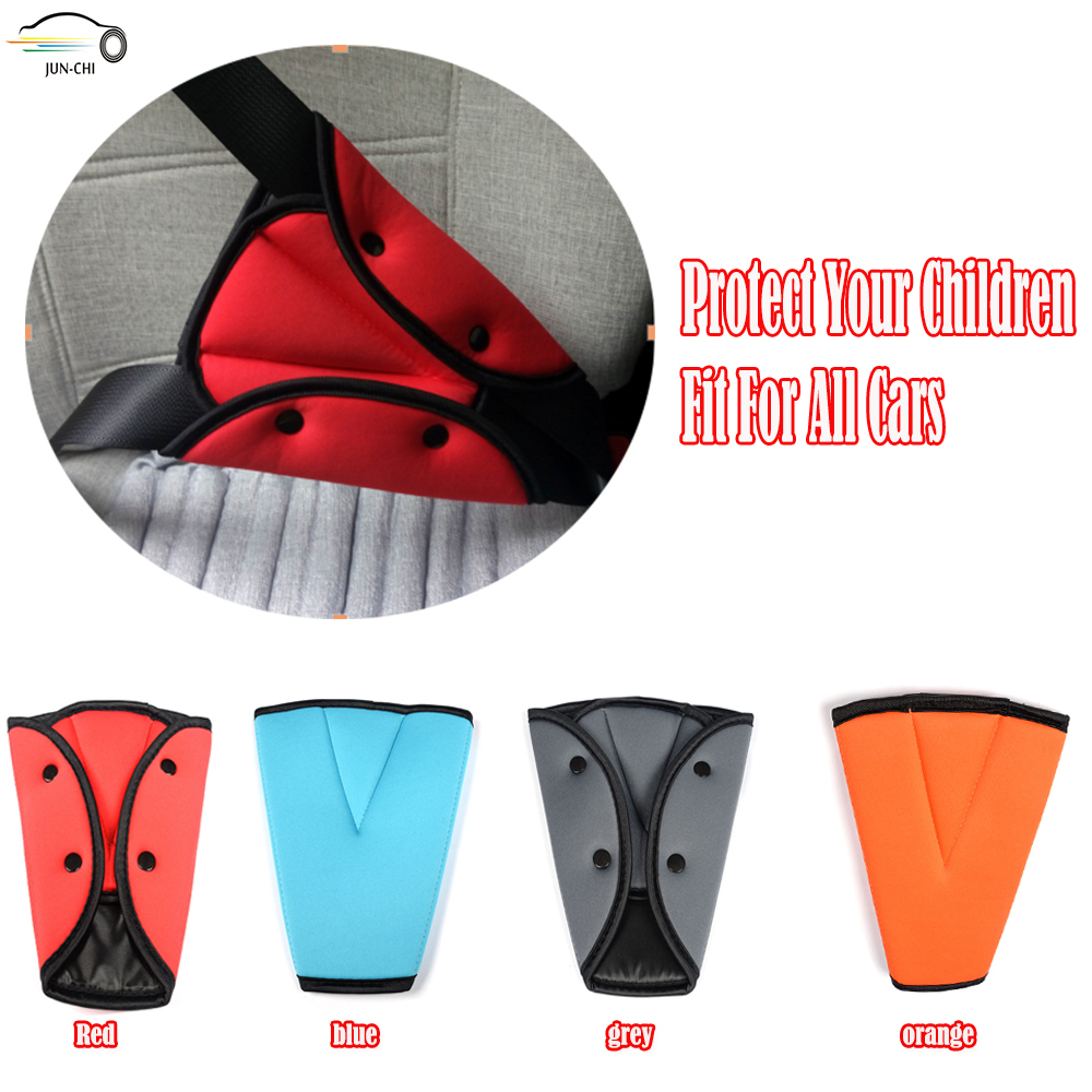Car Safe Fit Seat Belt Sturdy Adjuster Car Safety Belt Adjust Device Triangle Baby Child Protection Baby Safety