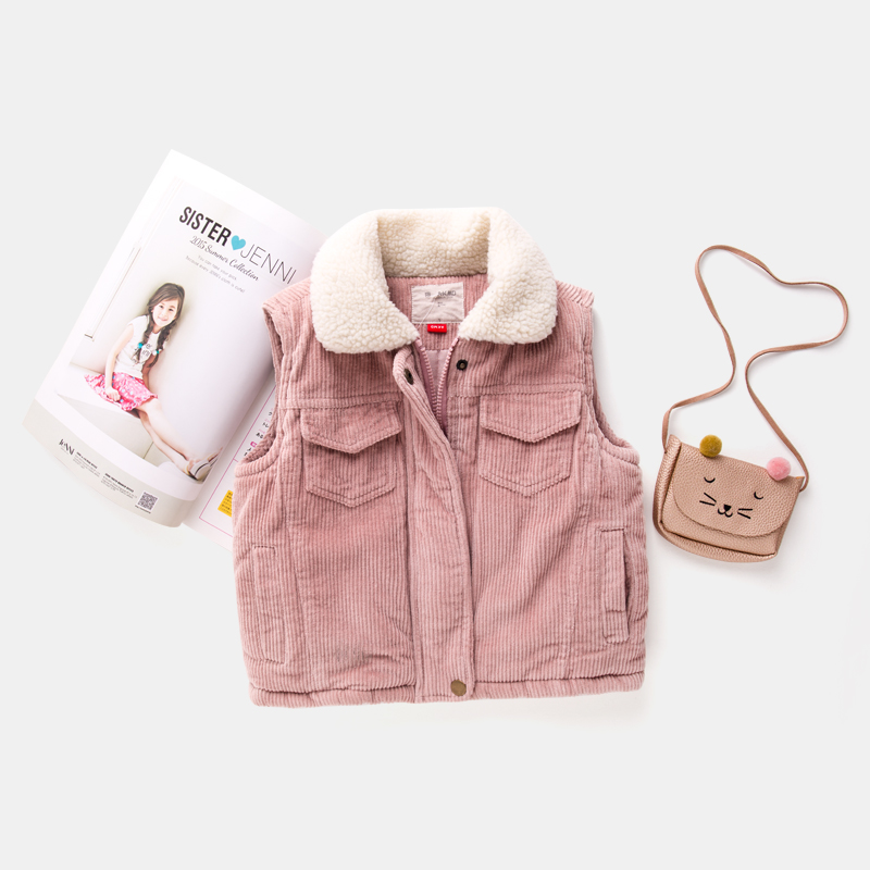 Maggies Walker Girls Winter Cotton Vest Kids Girl -2210