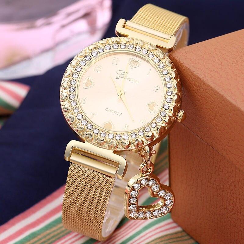 Fashion Women Watches Ladies Wristwatch Designer Female Diamond Luxury Watch Women Herat Quartz Watch Women 39 s Wrist Clock in Women 39 s Watches from Watches