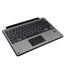 witsp@d Keybaord For Microsoft Surface Pro 5 / Pro 4 / Pro 3,Slim Aluminum Wireless Bluetooth Case keyboard with Trackpad