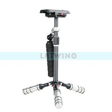 Lamp Stand Tripod lack Carbon Fiber Professional Lightweigth Tripod Monopod For DSLR Camera / to camera / camera stand
