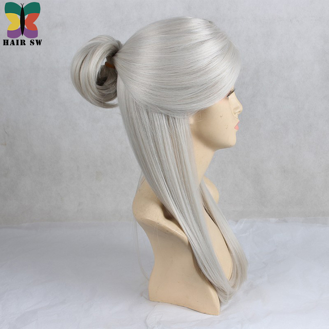 Long Straight Synthetic Hair For Cosplayer
