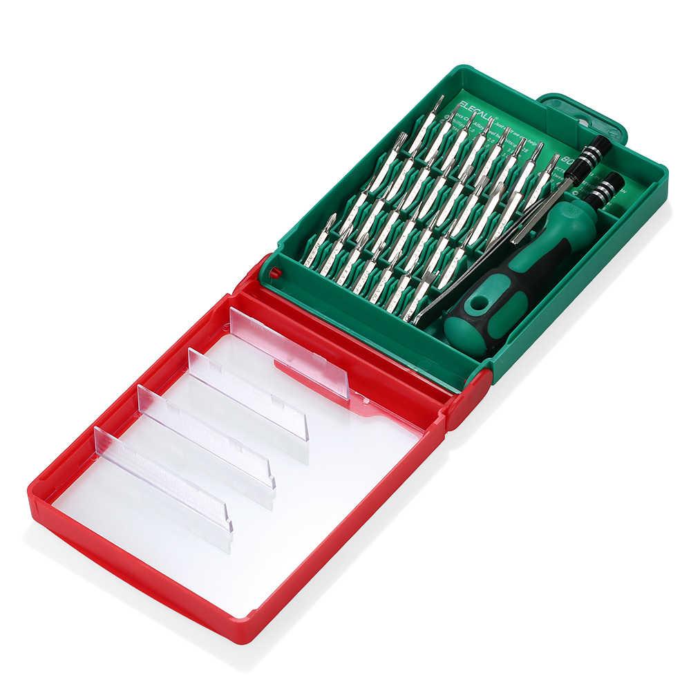 33 в 1 Магнитная отвертка Набор бит отвертка Multi-functional DIY Repair Tool Kit для мобильного телефона часы
