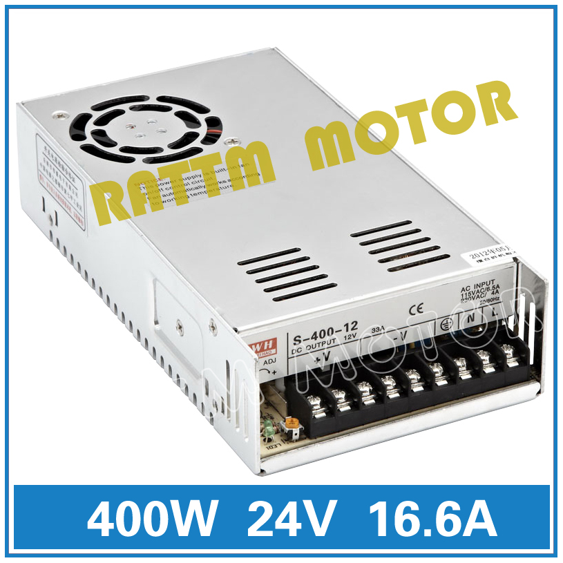 EU Delivery! 400W 24V/70V DC Switch Power Supply CNC Router Single Output Power Supply Foaming Mill Cut Laser Engraver Plasma