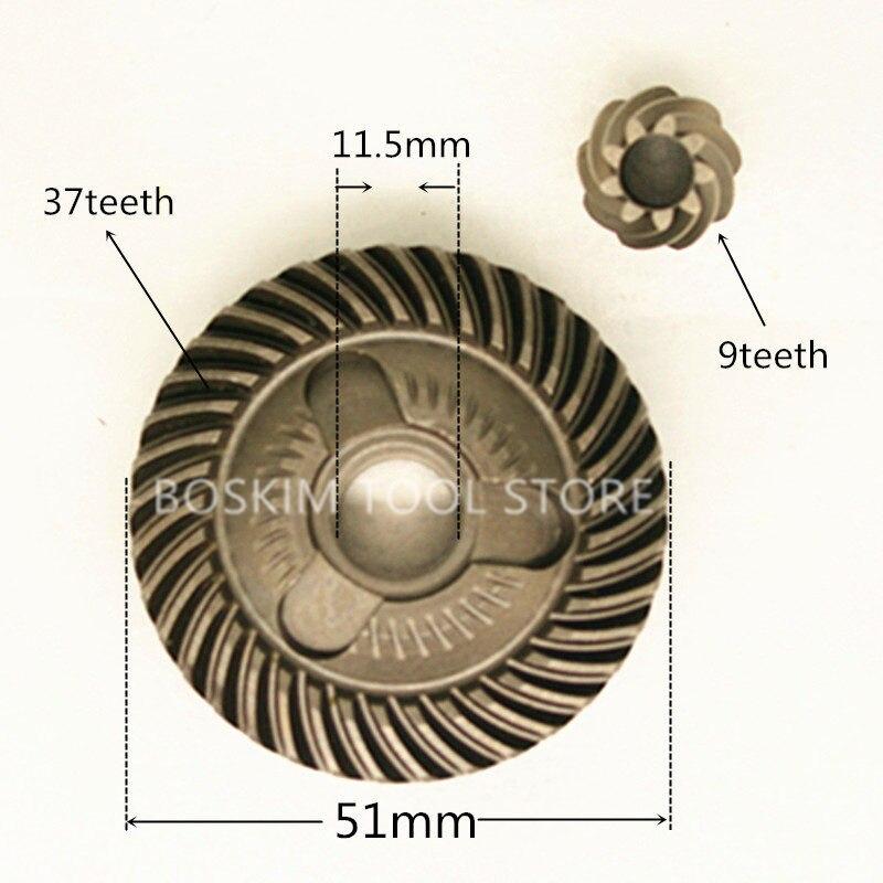 Gear Replace For Bosch 150 GWS14-150C GNF35CA GWS10-125C GWS1000 GWS15-125CIT AG60-125 GWS15-150CI GWS17-150CI GWS14-125CIT