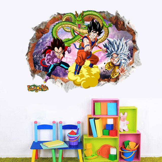 Dragon Ball  Z Kids Rooms Decoration Mural Art Wallpaper
