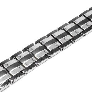 Image 3 - Escalus pulsera magnética de titanio puro para hombre, imanes 4 en 1, iones negativos, germanio, Pulseras de salud, joyería