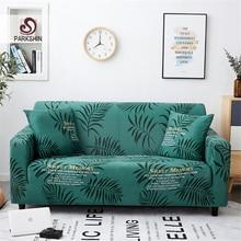 Parkshin Blad Kussenovertrekken Sofa Cover All inclusive antislip Sectionele Elastische Volledige Couch Cover Sofa Handdoek 1/ 2/3/4 Seater