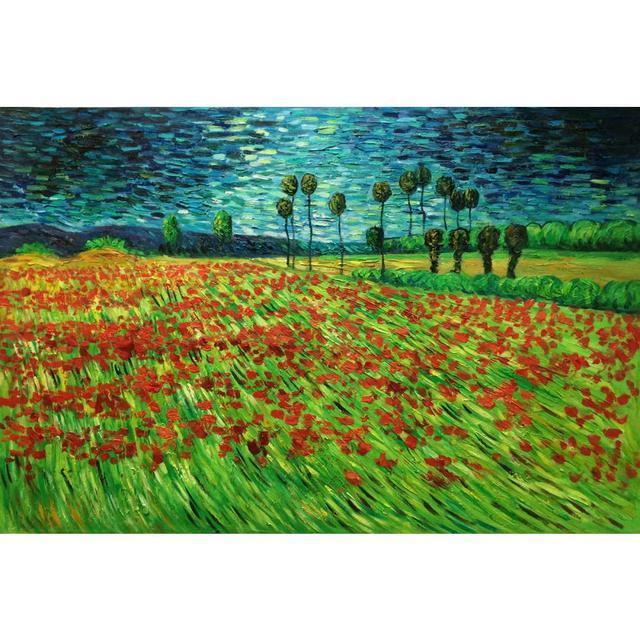 Vincent Van Gogh Classique Paysage Toile Peintures À L'Huile Champ