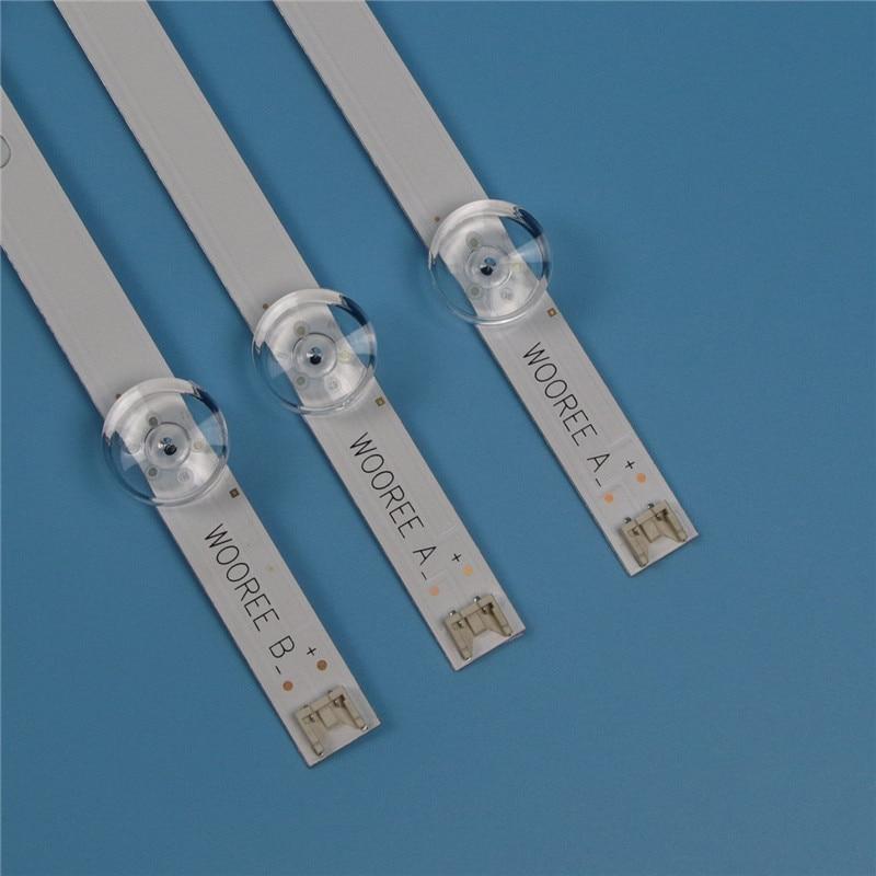 6 Lamps LED Backlight Strip For LG 32LB628U 32LF550U 32LF562U 32LF564V 32LF620U Bars Kit Television LED Bands Innotek 32
