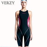 Sportswoman Professional Sharkskin One Pieces Long Sport Swimsuits Athletes Backless Women Swimming Suit Competition Swimwear