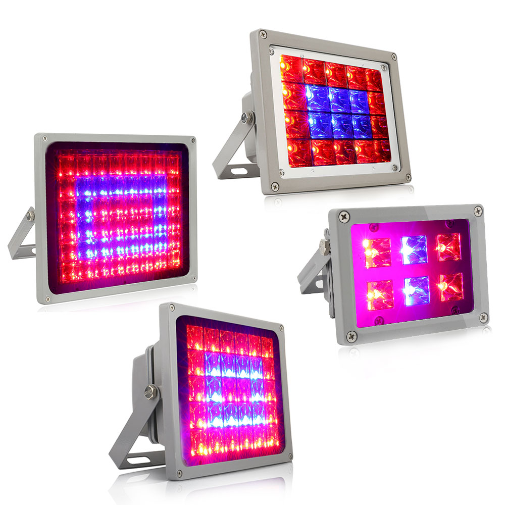 LED Grow Light Full Spectrum Horticulture Flood Plant Lamp For Indoor Garden Flowering Hydroponics System 12W 40W 60W 100W