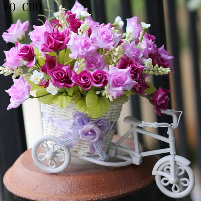 Yo Cho Hochzeit Dekoration Mariage Decor Gefalschte Blumen Bunte