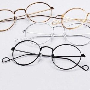 Image 4 - Hand Made John Lennon Vintage Oval Eyeglass Frames Full Rim Men Women Glasses Spectacles Myopia Rx able