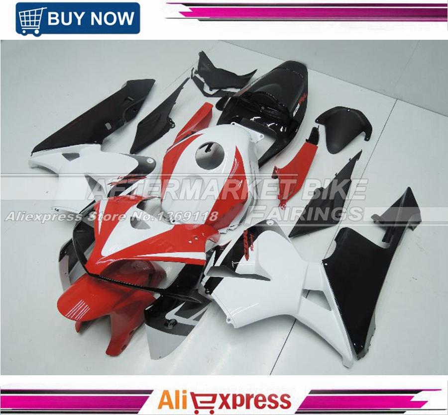 CBR Racing ABS Fairing Body For Honda CBR600RR F5 05 06 Motorcycle Injection Fairings 2005 2006
