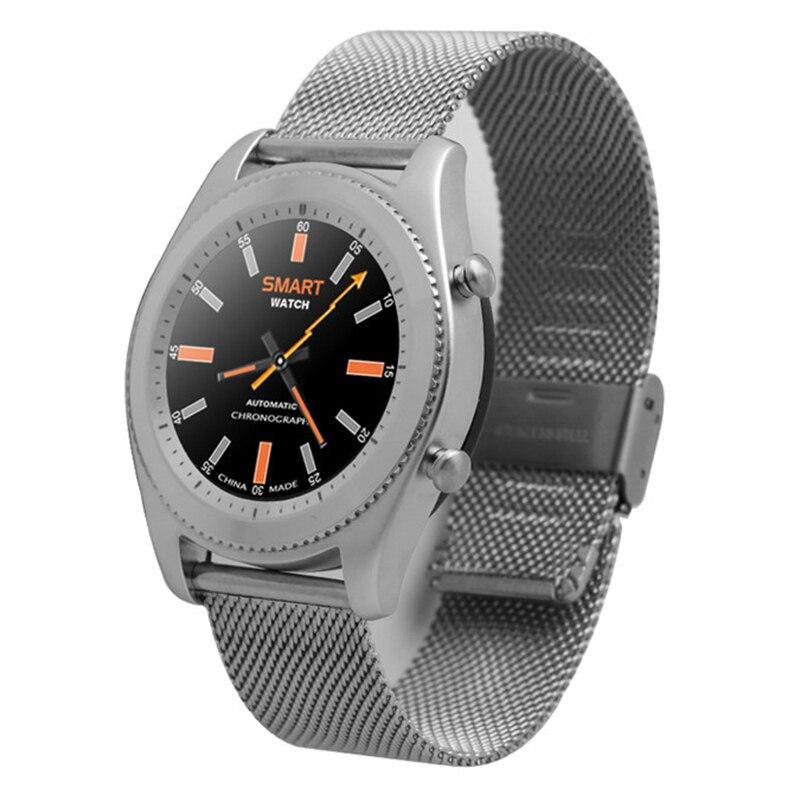 Original n° 1 s9 nfc mtk2502c pulsómetro bluetooth 4.0 smart watch smartwatch pu