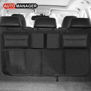 Image 5 - Car Trunk Organizer Backseat Storage Bag High Capacity Adjustable Auto Seat Back Oxford Cloth Organizers Universal Multi use