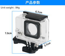 цена на Camera shooting photography Waterproof case housing for gopro hero3+3 4 45meter for mountaineering parachuting