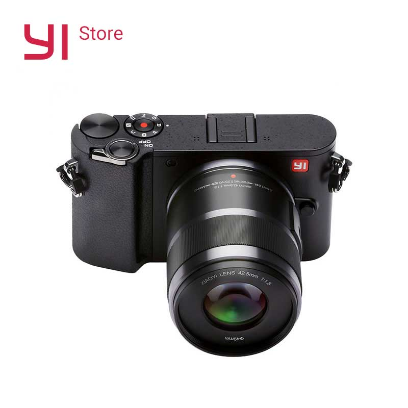 YI M1 Mirrorless Fotocamera Digitale 720RGB H264 Con YI 12-40mm F3.5-5.6 Obiettivo Zoom LCD RAW 20MP Video registratore Versione Internazionale